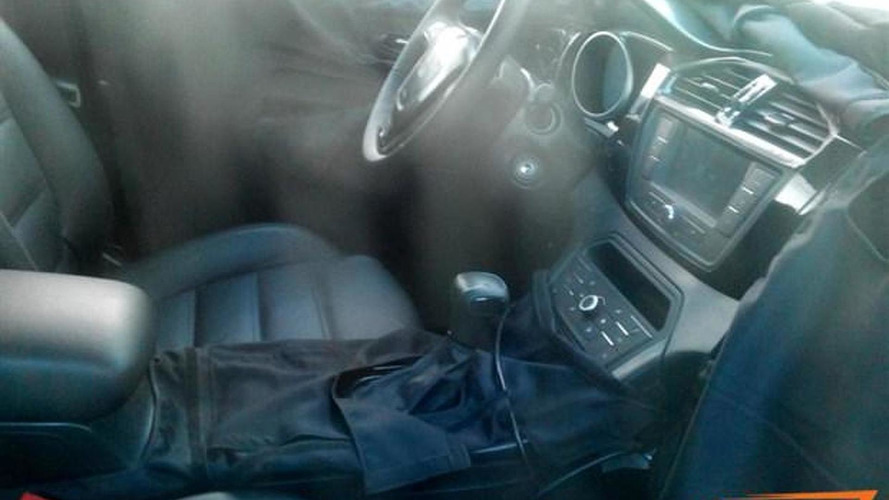MG CS interior revealed in latest spy photographs