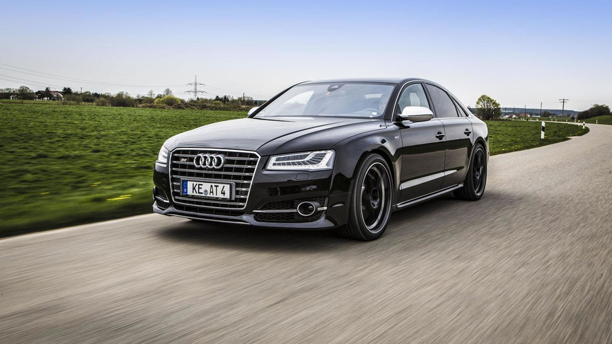 ABT Sportsline tunes the facelifted Audi S8 to 640 PS