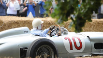 Mercedes at 2013 Goodwood Festival of Speed 12.7.2013