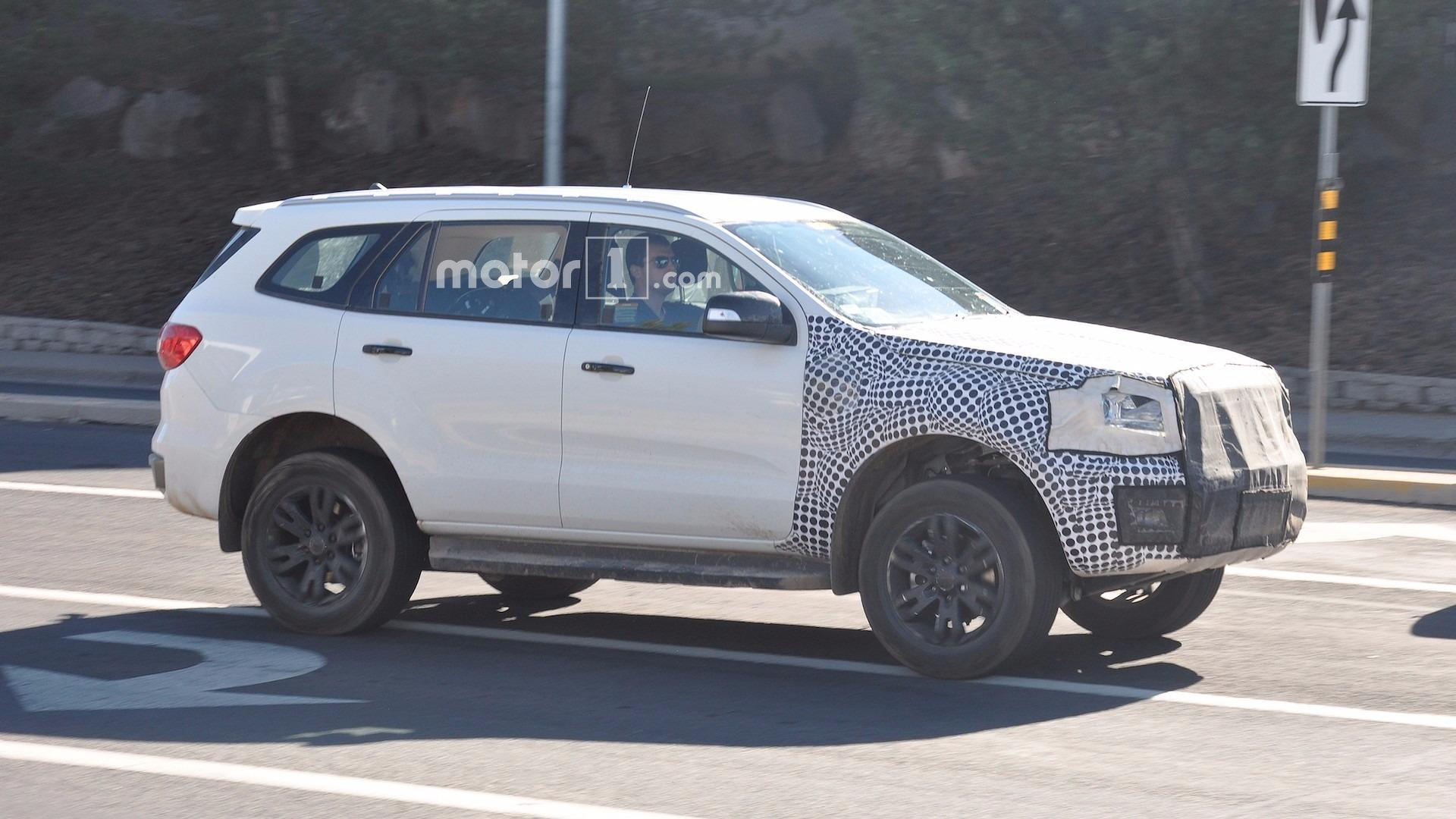 Ford Everest 2018 Release Date >> New Ford Bronco Spy Photos | Autos Post