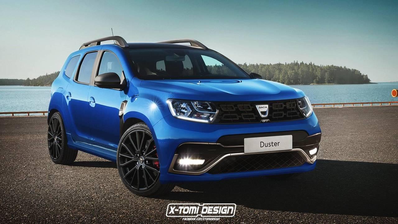 Dacia Pickup 2017 >> 2018 Dacia Duster GT render photo