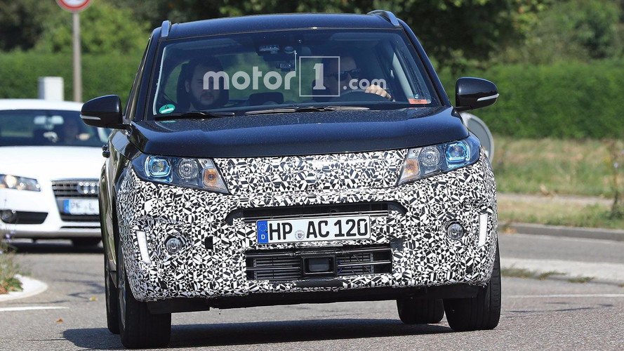 Suzuki Spied Testing Refreshed Vitara With Revised Grille