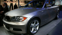 BMW 1-Series Convertible at Detroit