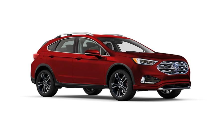 Ford Fusion crossover - Projeção