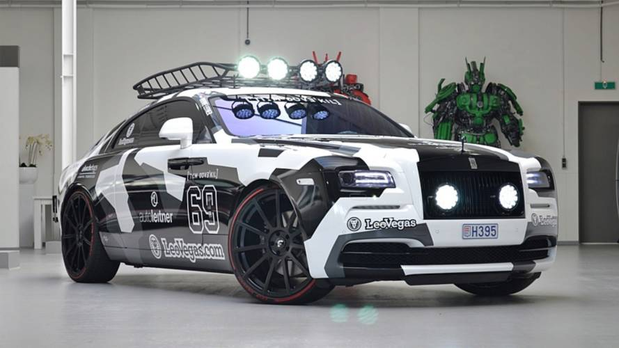 You Can Buy Jon Olsson's Bonkers 810-HP Rolls-Royce Wraith