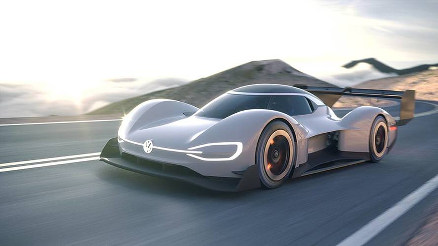Watch VW Unveil The I.D. R Pikes Peak Electric Race Car