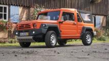 Empresa alemã Travec produz jipe de plástico com mecânica de Dacia Duster