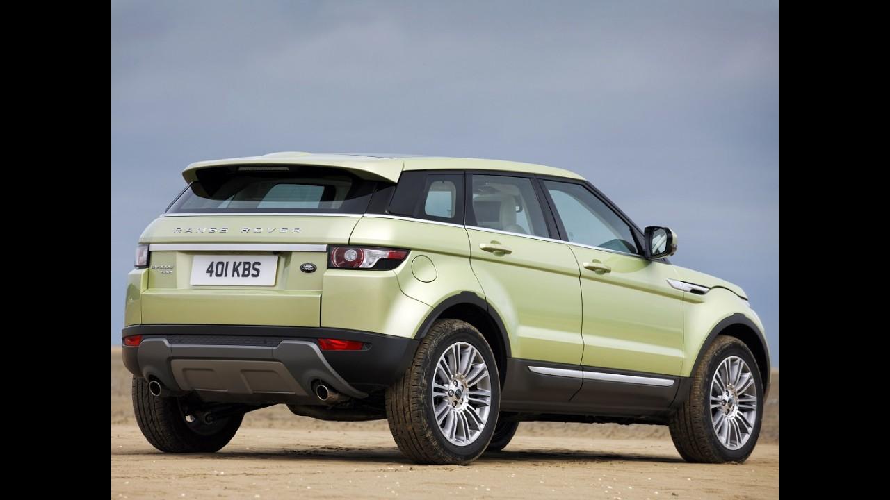 Land Rover produzirá Evoque na Índia para driblar os altos impostos de importação