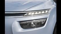 Nova Citroën Grand C4 Picasso tem visual futurista e espaço para sete