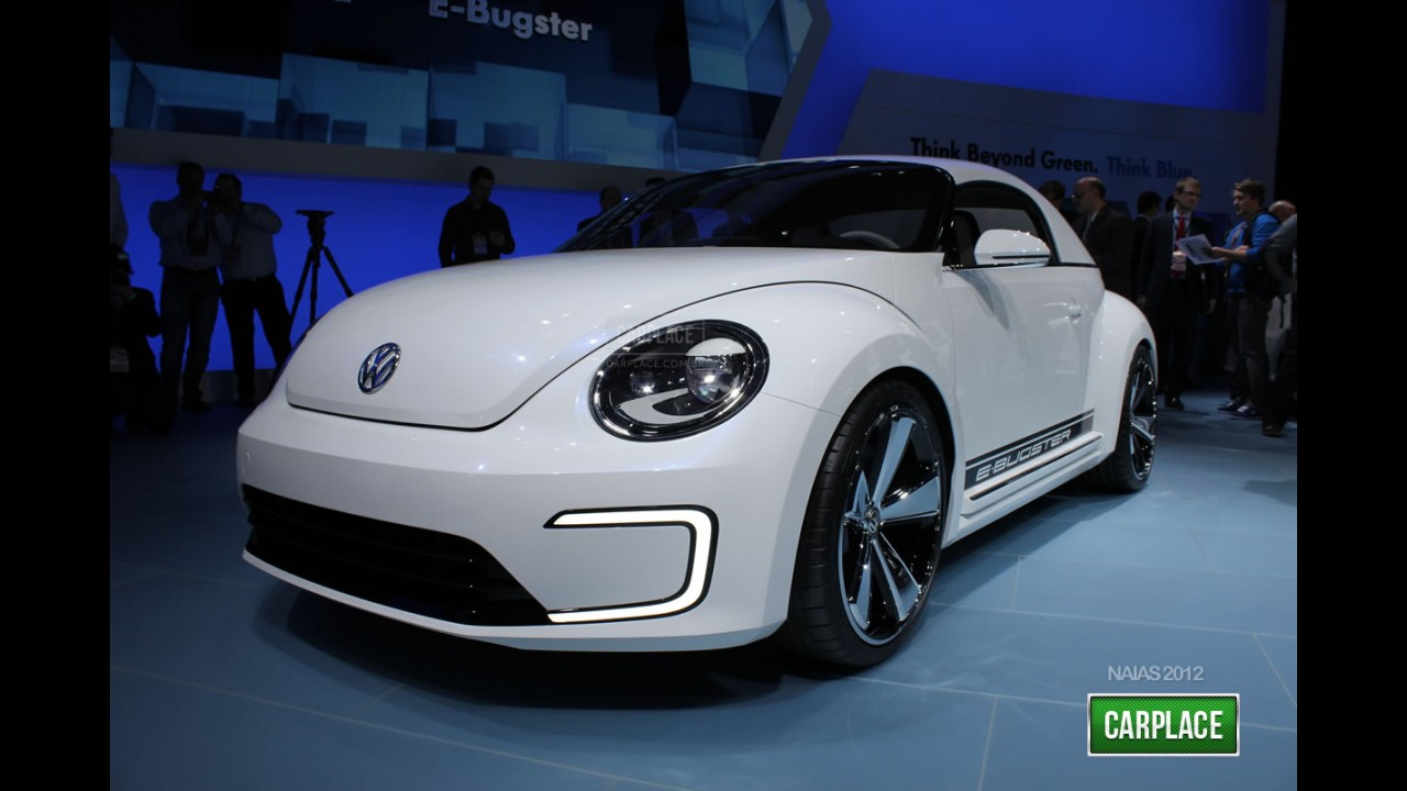 Salão de Detroit: Fotos do elétrico Volkswagen E-Bugster Concept