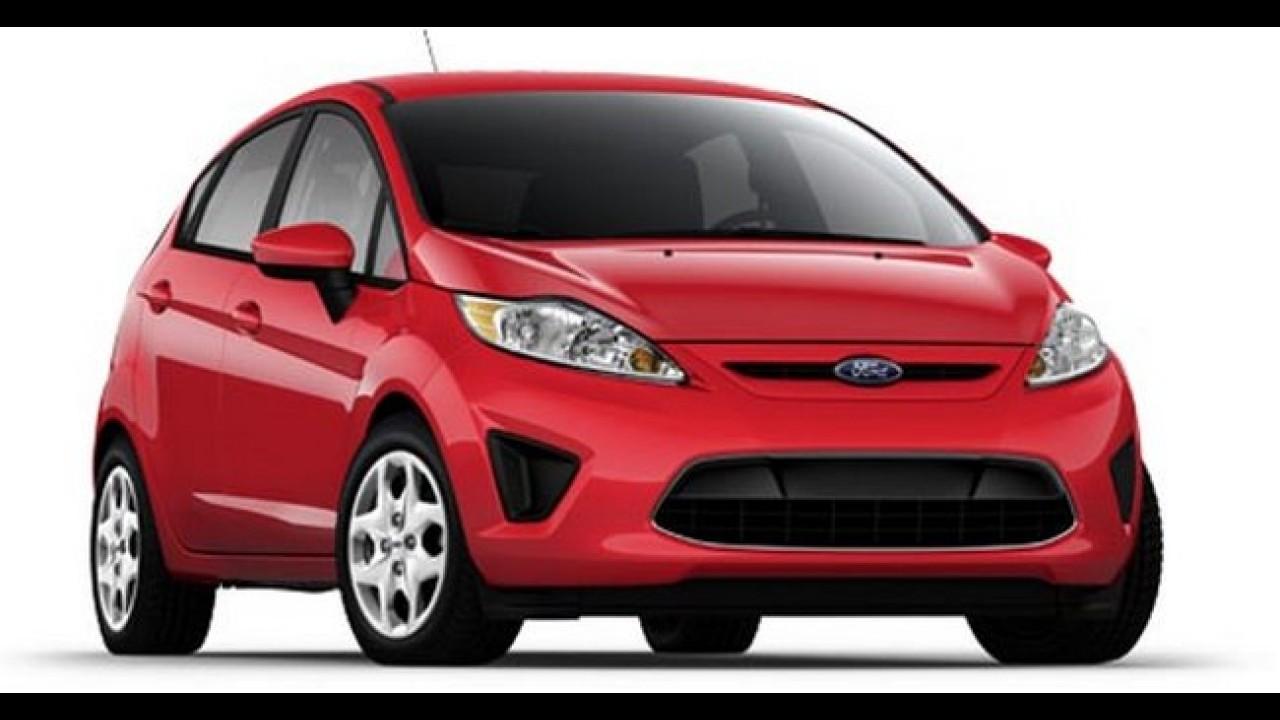 Ford lança New Fiesta mais básico na Argentina por R$ 36.053,00