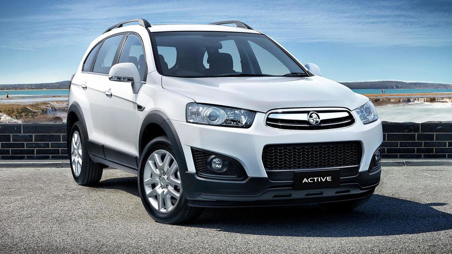 Holden Captiva Active special edition unveiled