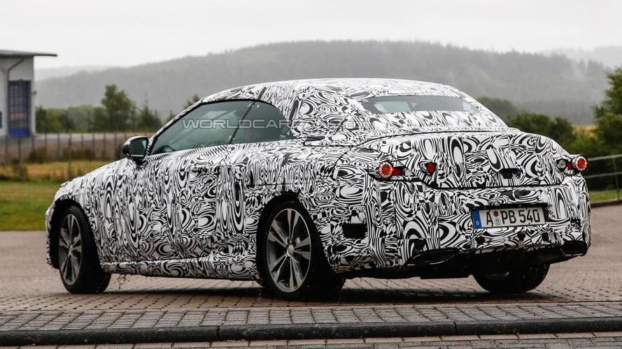 2016 Mercedes-Benz C-Class Cabriolet spied up close