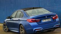 Next generation BMW M5 render