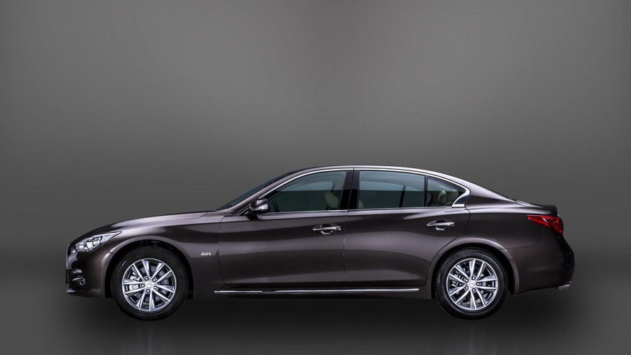 Infiniti Q50L world debut announced with first official image