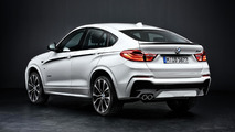 BMW X4 with M Performance parts