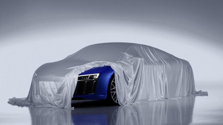 2015 Audi R8 teased with laser headlights