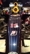 Mark Webber's Red Bull RBR3 F1 car goes up for sale