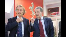 Romano Prodi visita la Ferrari a Maranello