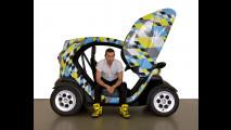 Renault Twizy. L'omaggio a Pablo Picasso da parte di Paolo Gonzato