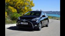 Toyota Yaris restyling, quella col