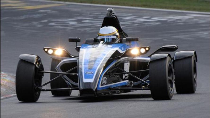 Formula Ford 1.0 EcoBoost: al Nurburgring con soli 3 cilindri