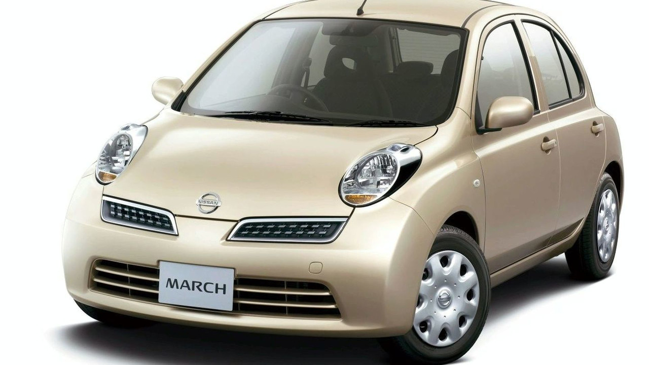 Nissan March 25th Happiness Special Edition