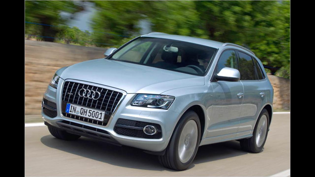 Die besten Autos bis 7 Jahre: Audi Q5/Audi TT