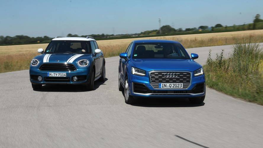 Audi Q2 gegen Mini Countryman