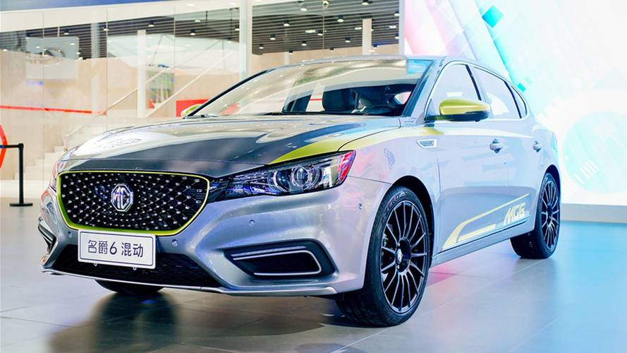 New MG6 Debuts In China As PHEV, Will Be Launched In UK Too