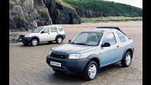 Land Rover Freelander, le foto storiche