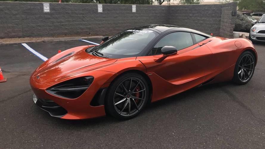 McLaren 720S à vendre 23 bitcoins