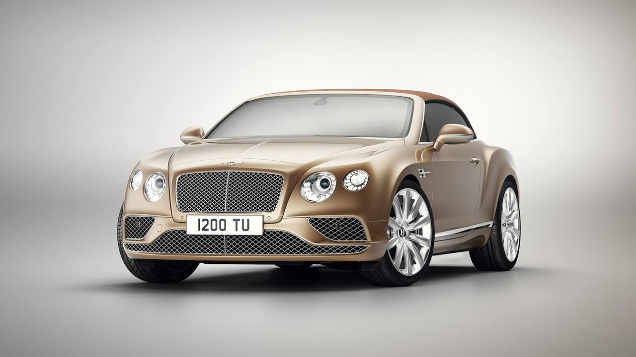 Bentley Continental GT Convertibile Timeless Series