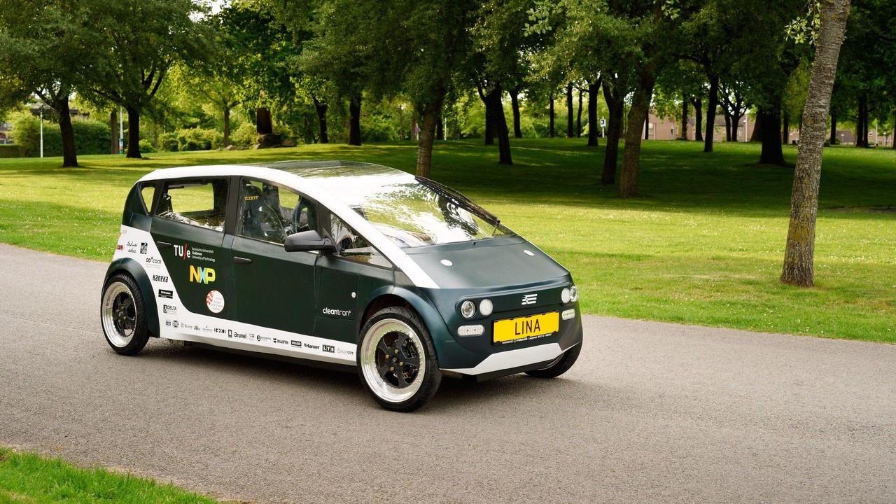 Lina, l'auto biodegradabile