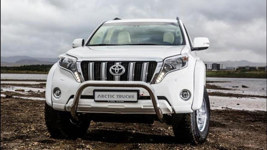 Toyota Land Cruiser, Arctic Trucks li spinge al limite del Polo Nord