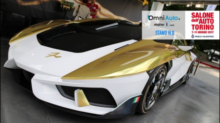 Frangivento Charlotte Gold Edition, l'auto con l'acquario