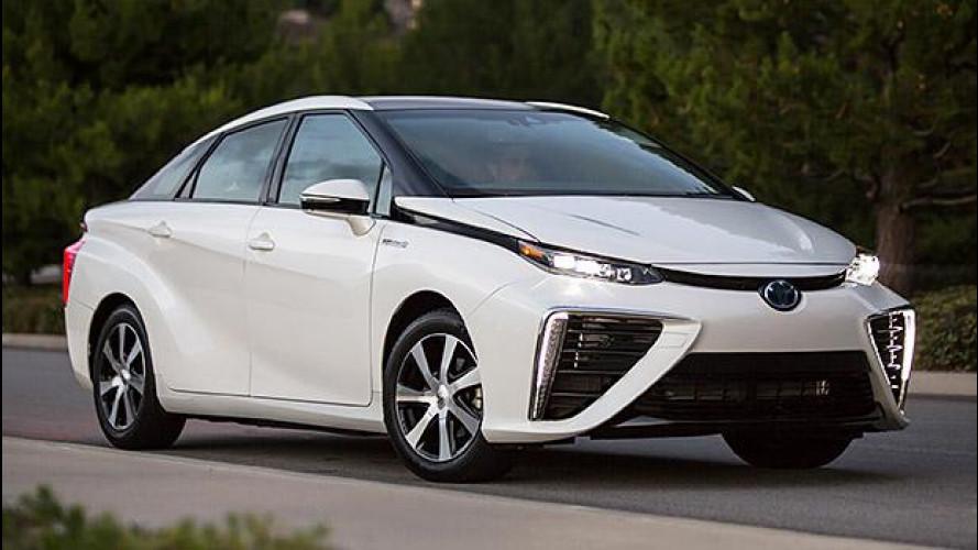 Toyota Mirai, inizia l'età dell'idrogeno... in California