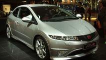 New Honda Civic Type R at Paris Motor Show