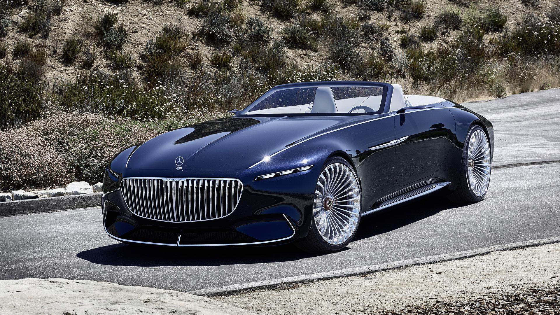 vision mercedes maybach 6 cabriolet luxueuse lectrique. Black Bedroom Furniture Sets. Home Design Ideas
