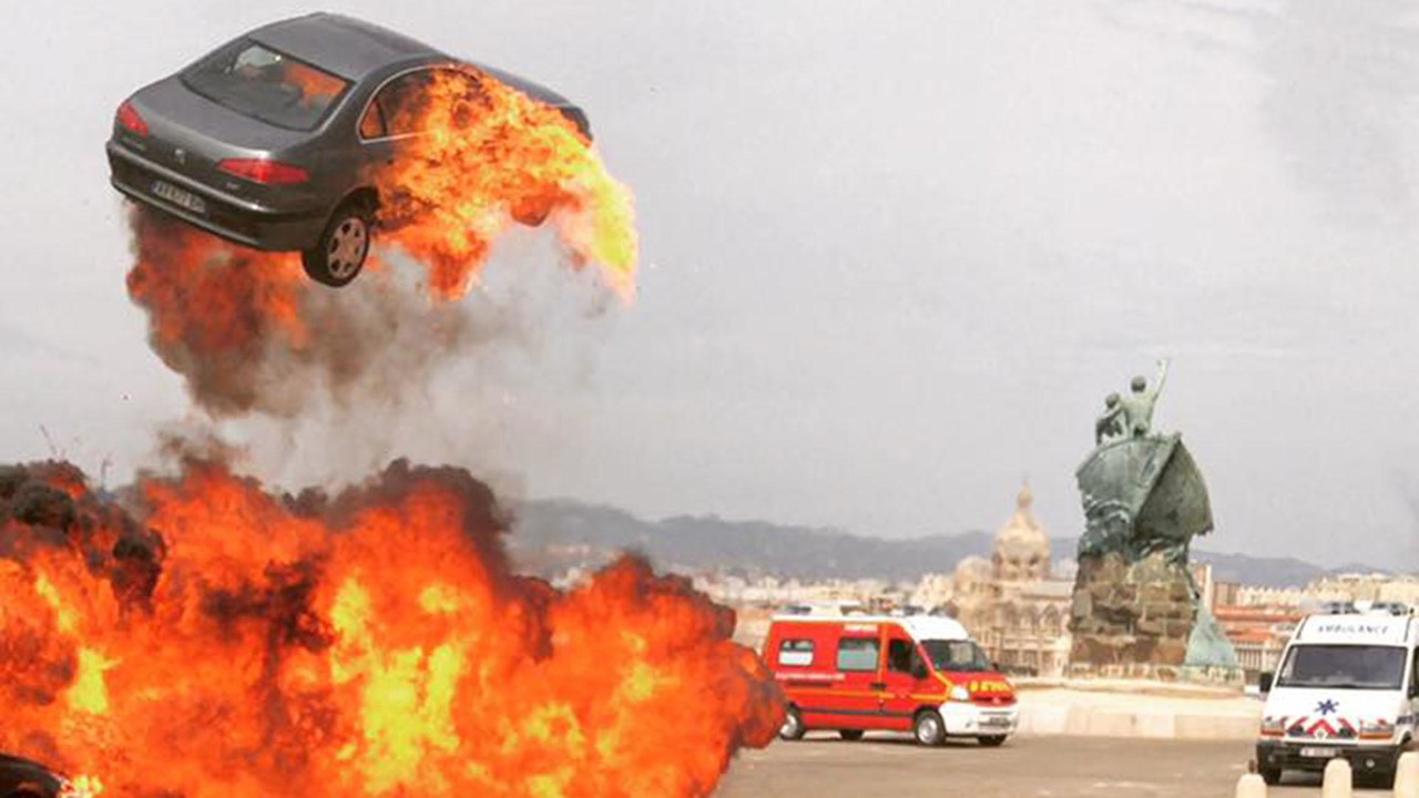 Taxi 5 tournage