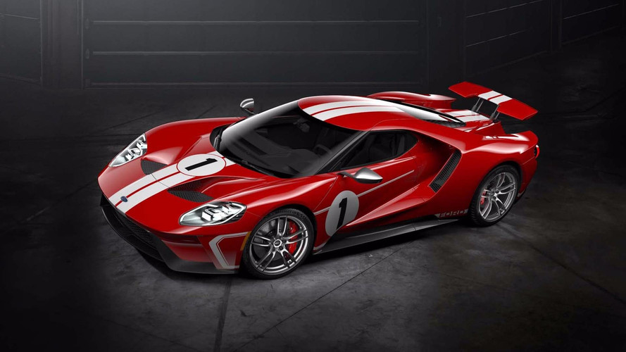 Ford GT'ye '67 Heritage Edition opsiyonu
