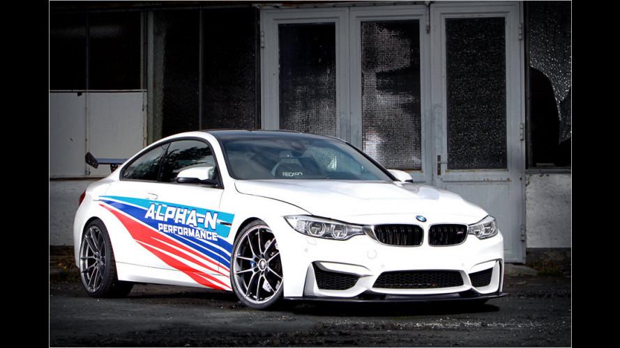 BMW M4 RS von Alpha-N: Ring-Renner