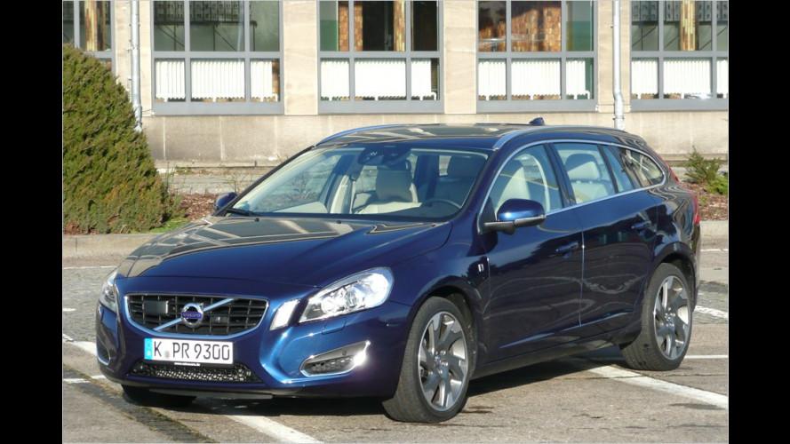 Sensoren-Kombi: Volvo V60 D3 im Test