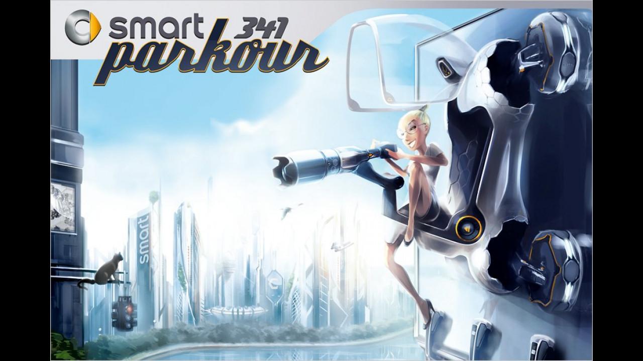 Smart 341 Parkour