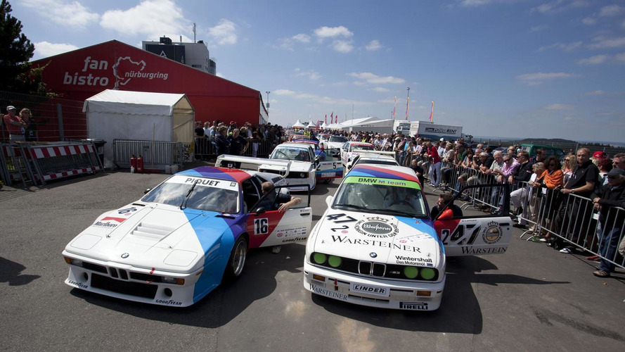 BMW M anniversary race held in Germany