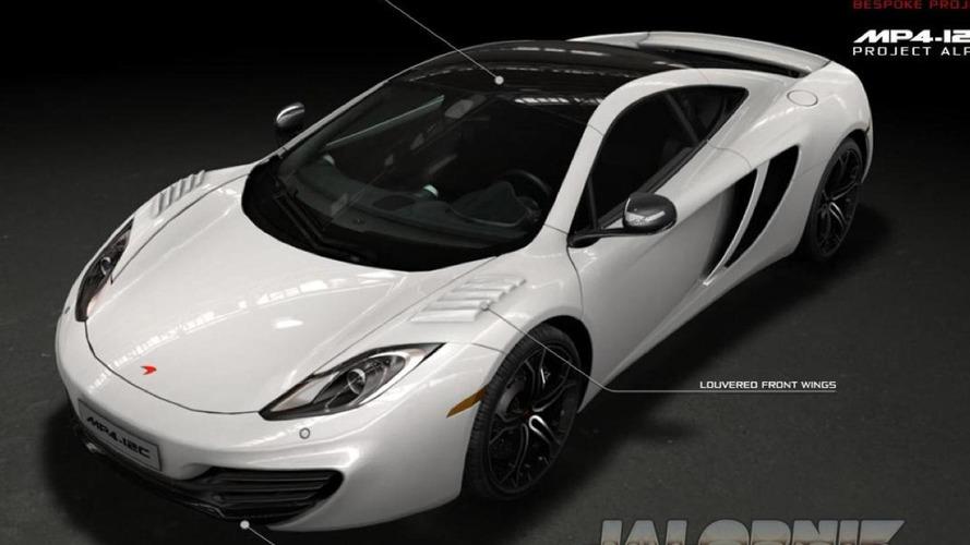 McLaren MP4-12C Project Alpha revealed in leaked brochure