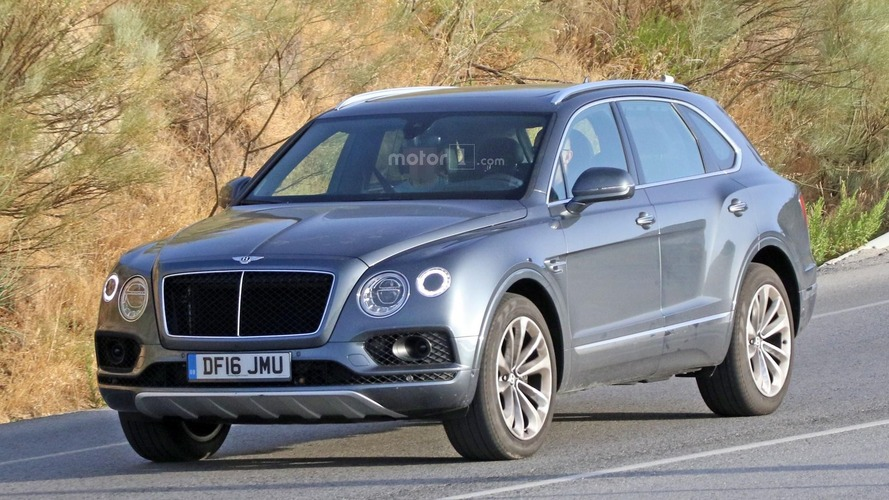 Bentley Bentayga spotted with diesel engine