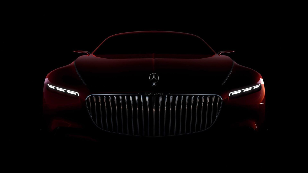 Vision Mercedes-Maybach 6 teaser