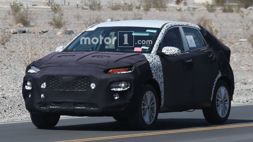 Kia Compact Crossover Spy Photos