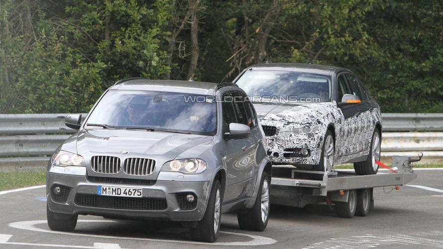 2012 BMW 3-Series breaks down on the Nürburgring